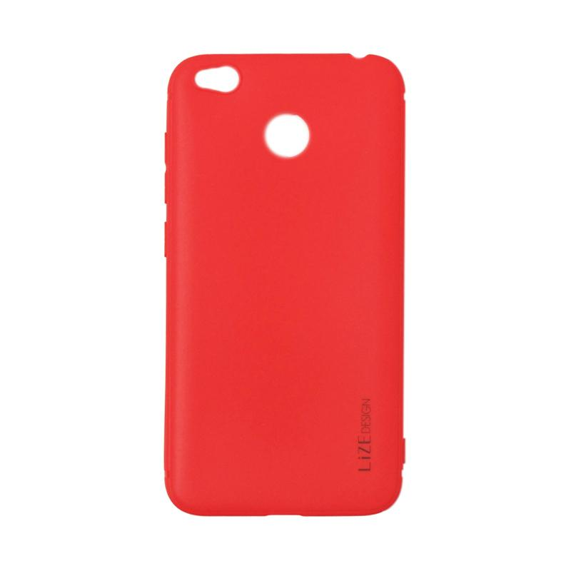 Lize Design Softshell Softcase Color Matte Casing for Xiaomi Redmi 4x - Red