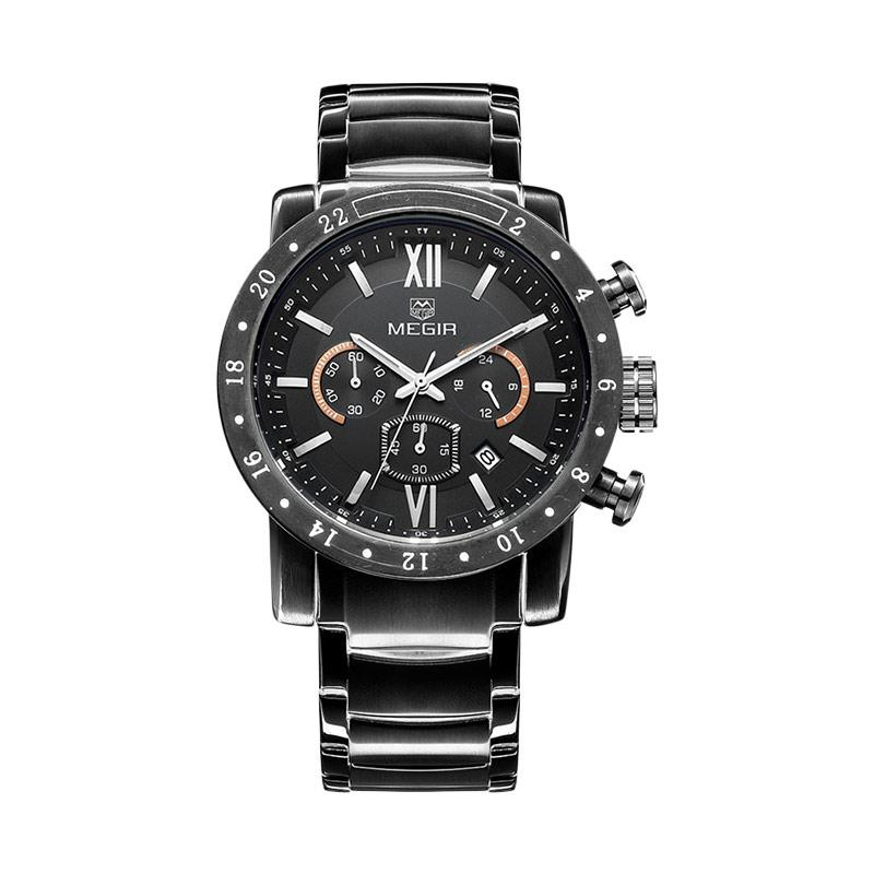 Megir Chrono Military Army Luxury Watch Original Jam Tangan Pria MGR08