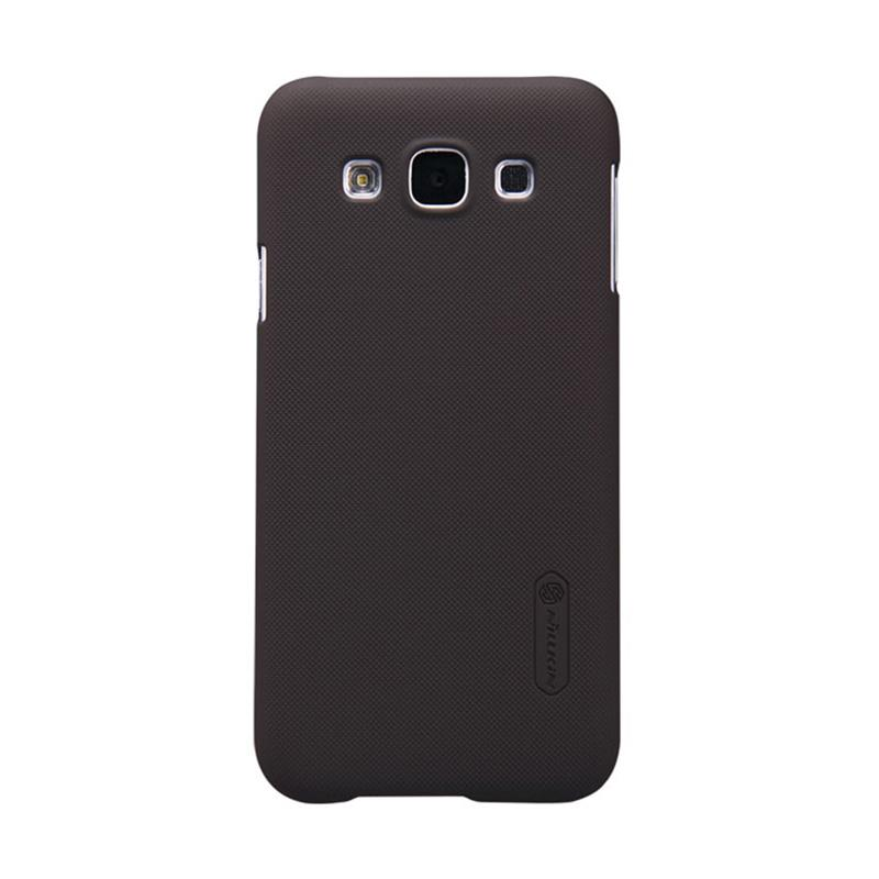 Nillkin Original Super Shield Hardcase Casing for Samsung Galaxy E5 - Brown [1 mm]