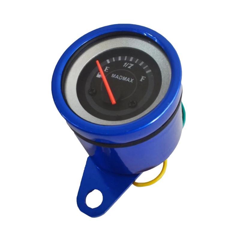 harga Raja Motor Aksesoris Motor Amper Bensin Digital LED - Biru [AMP9001-Biru]