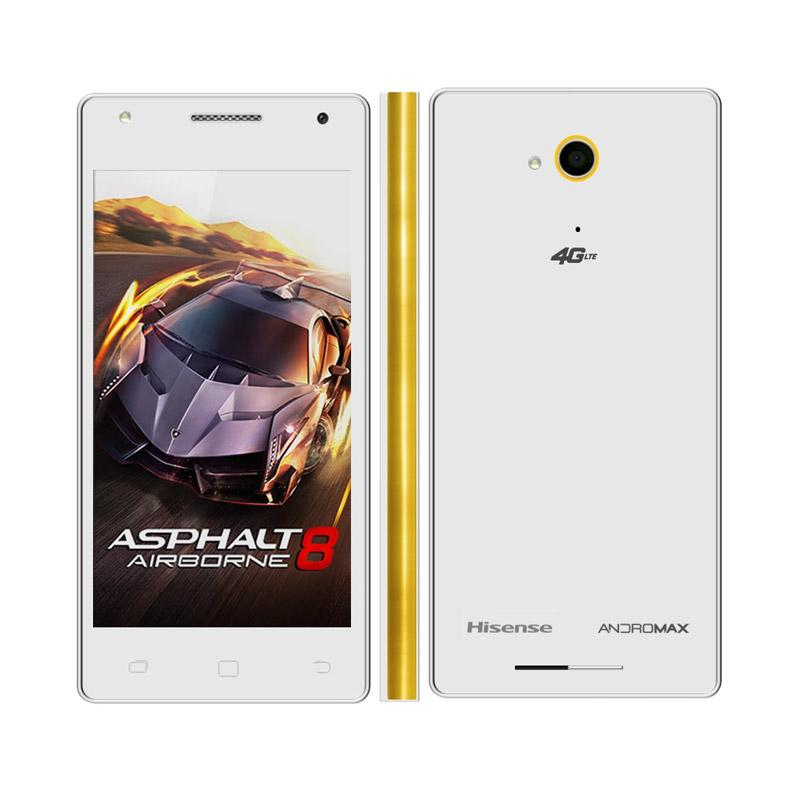 Smartfren Andromax E2 Plus (Smartfren Official Store) - White Gold [Free kuota 100 GB]
