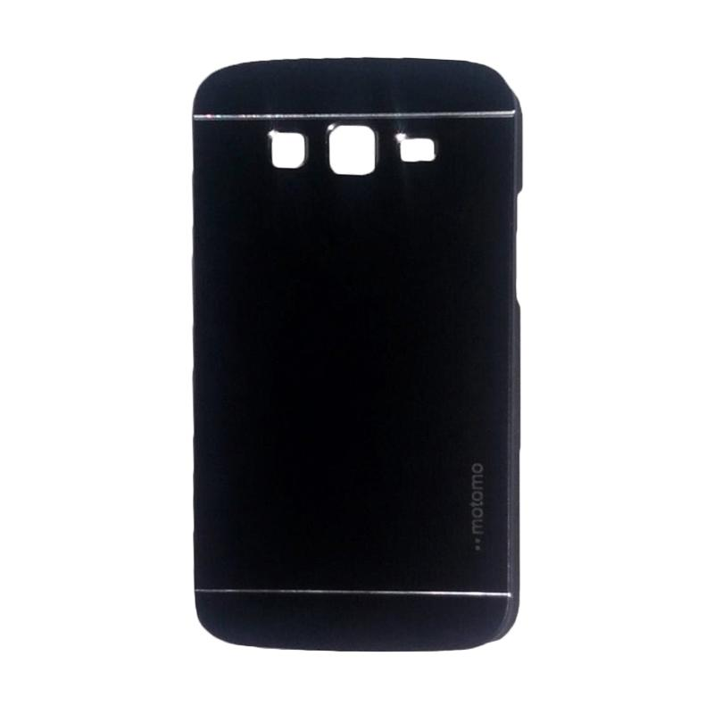 Motomo Metal Hardcase Backcase Casing for Samsung Galaxy Grand or I9082 - Black