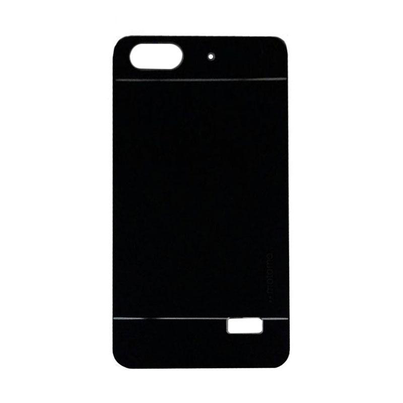 Motomo Metal Hardcase Casing for Huawei Honor 4C/Gplay Mini/Huawei 4C - Black