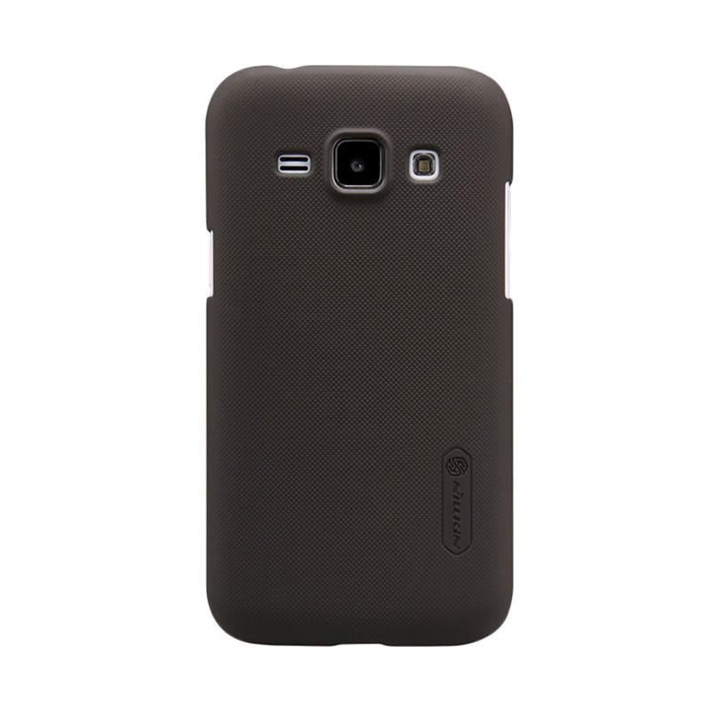 Nillkin Original Super Shield Hardcase Casing for Samsung Galaxy J1 - Brown [1 mm]