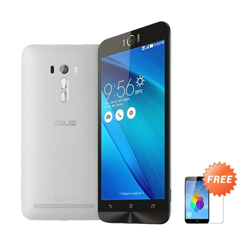 Ultrathin Aircase Casing for Zenfone Laser 5.5 Inch - Clear + Free Tempered Glass