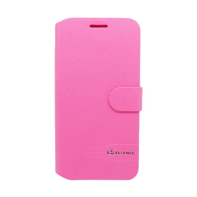 Excellence Flip Case Dragonite Casing for Asus Zenfone Max ZC550KL - Pink