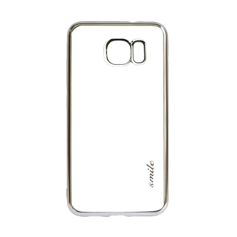SMILE Ultrathin Shining List Chrome for Samsung Galaxy S7 Edge - Silver