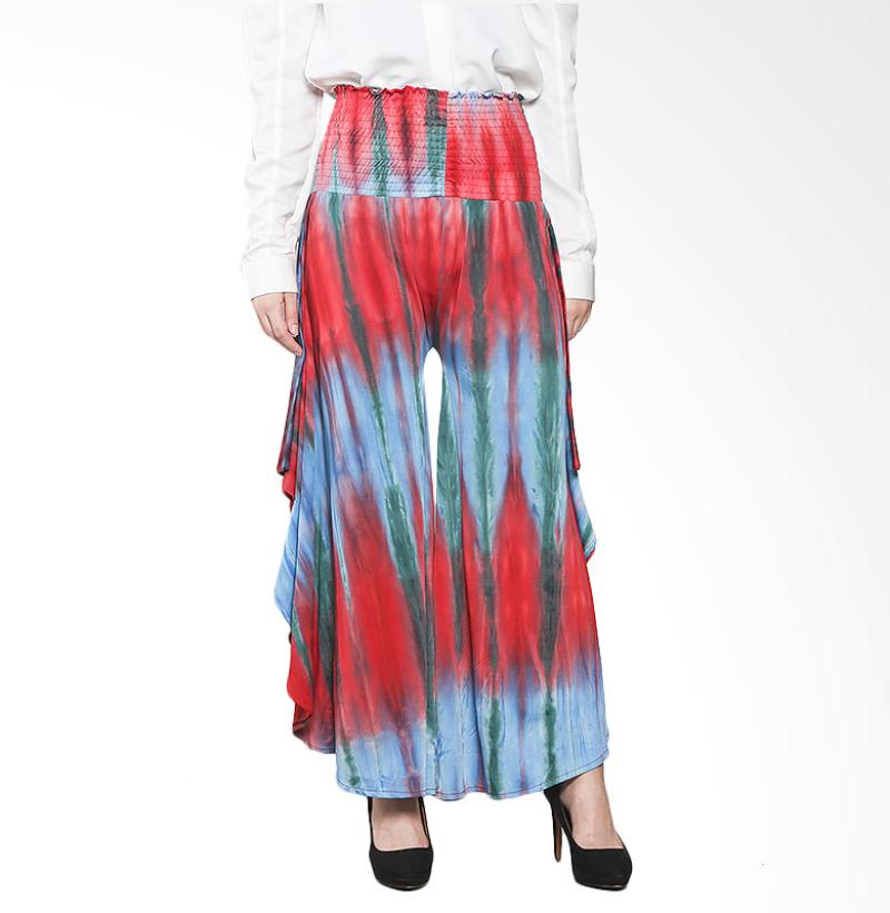 Aira Muslim Butik Tie Dye Bat Pants AB.B-003 Bawahan Muslim - Red Blue