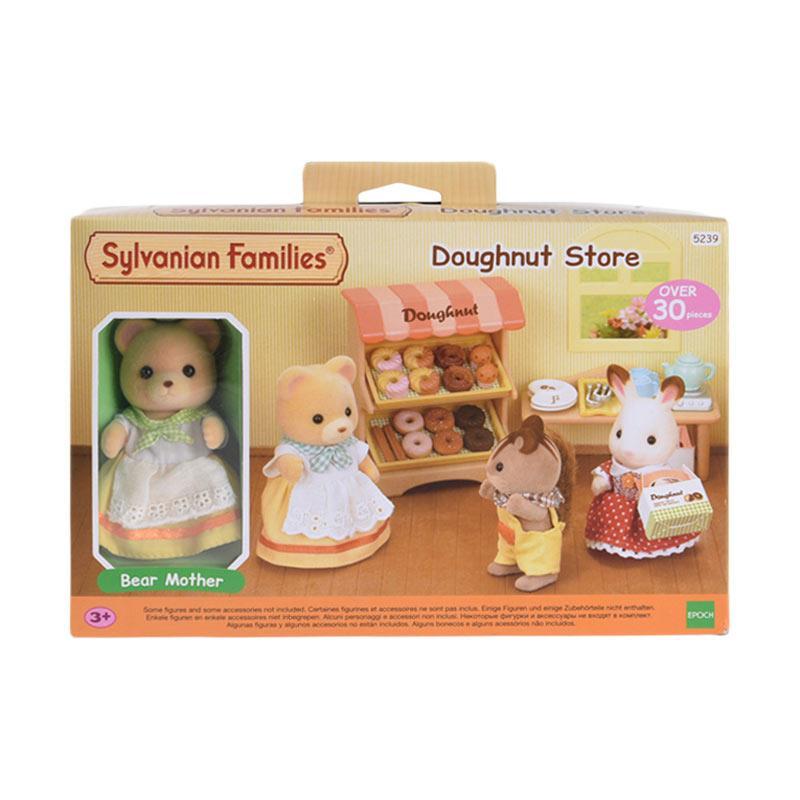 Sylvanian Families Doughnut Store Set Mainan Anak