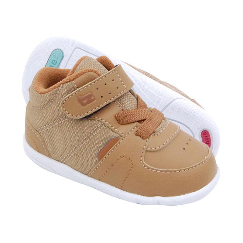 ToeZone Kids Bradley Sport Fs Sepatu Anak Laki-laki - Dark Tan Camel