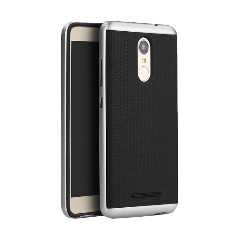 Ipaky Neo Hybrid Series Casing for Xiaomi Redmi Note 3 or Note 3 Pro - Silver