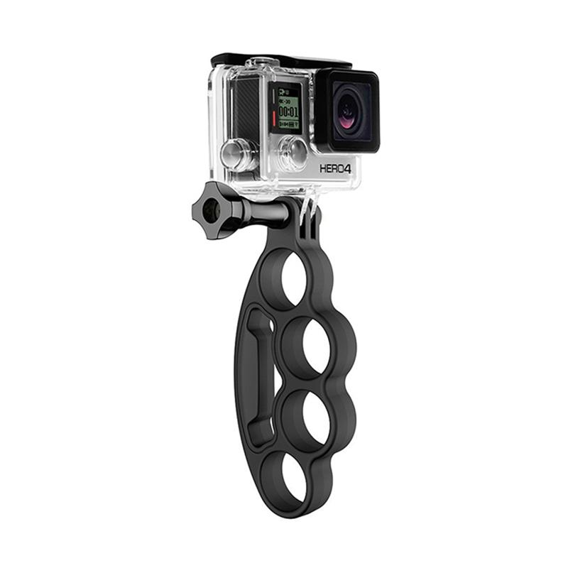 Action Cam Knuckles Fingers Grip for GoPro/Brica B-PRO/Xiaomi Yi - Hitam