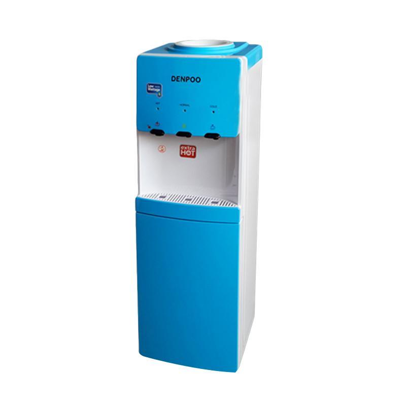 Denpoo Valerie DDK-3305 Water Dispenser with Cabinet - White Blue [Top Loading]