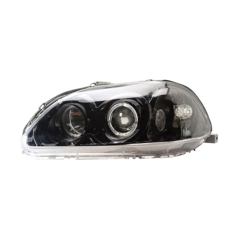 Eagle Eyes HeadLamp Headlight Lampu Depan Mobil For Honda Civic Ferio [HD410-B7WCW-BH]