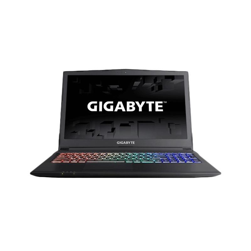 Gigabyte Sabre 15 Notebook - Hitam [i7 7700HQ/ 8GB/ 1TB/ GTX1050 2GB/ DOS/ RGB Keyboard/ 15.6 Inch FHD]