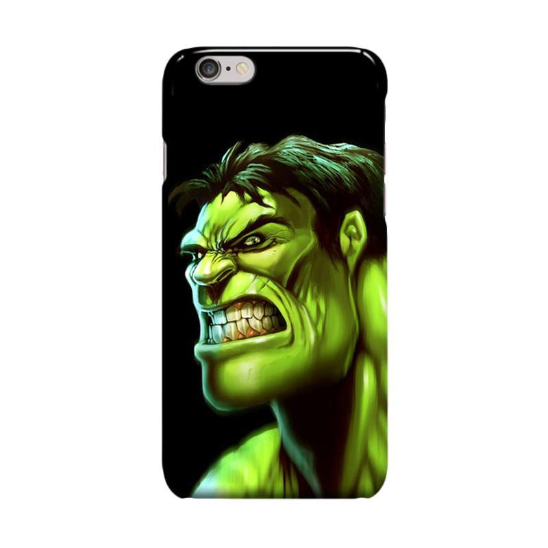Indocustomcase Hulk Casing for Apple iPhone 6 Plus or 6S Plus
