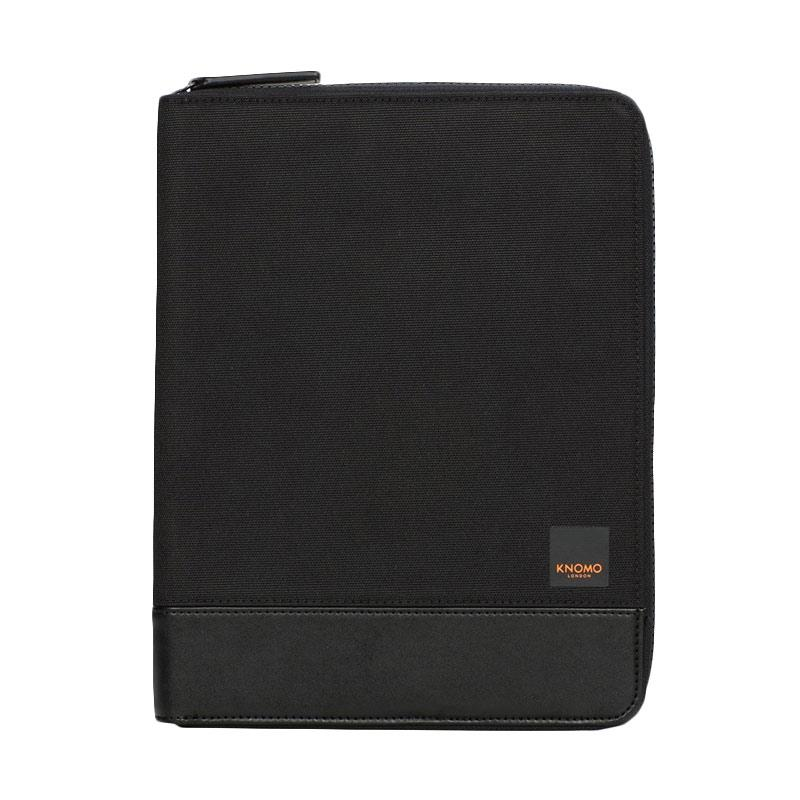 harga KNOMO Knomad Zip Folio Portable Organiser Case for iPad Air 10 Inch - Black [58-065-Blk] Blibli.com