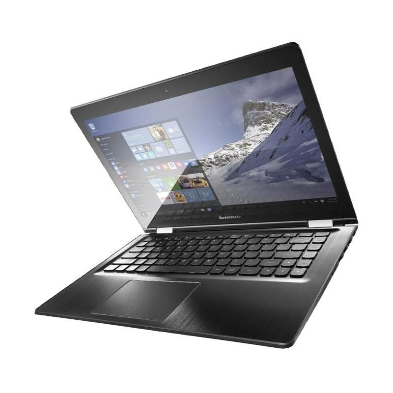 Lenovo Flex 4-14 Notebook - Black [i5-6200U/8GB/1TB/14 Inch FHD/Touch/Win 10/Hybrid X360]