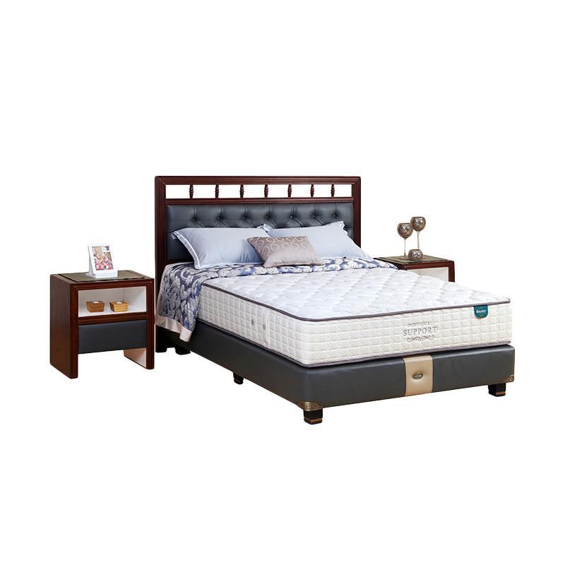Guhdo Individual Support Venetian Style Full Set Springbeds - Putih