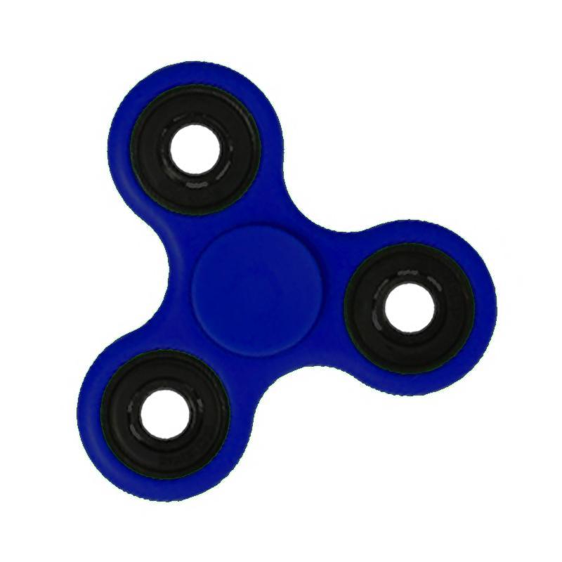 Aimons Focus Toys Hand Fidget Spinner Mainan Edukasi - Biru