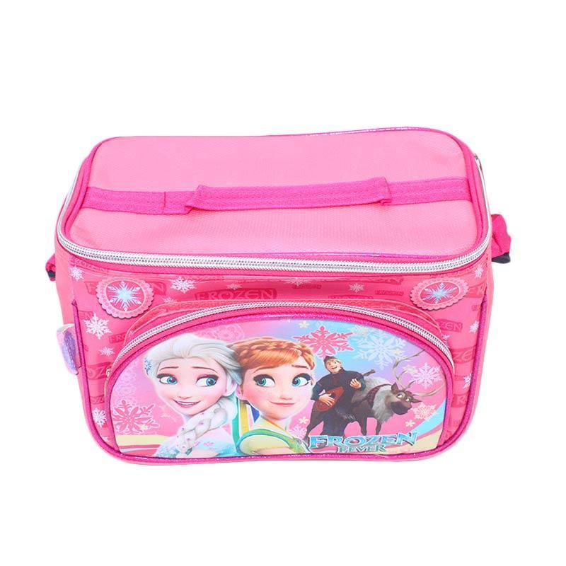 Istana Kado Online Tempat Makan Susu dan Piknik Frozen Tas Anak - Pink