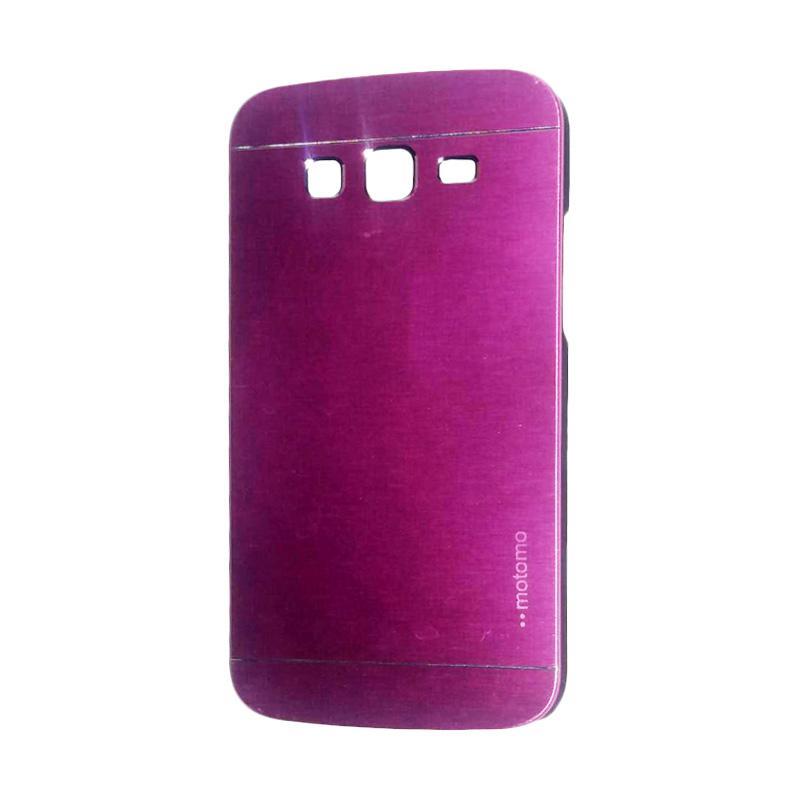 Motomo Metal Hardcase Backcase Casing for Samsung Galaxy Grand 2 or G7106 - Pink