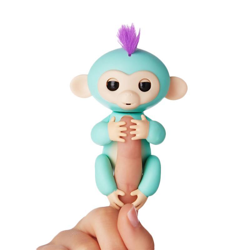 Wowwee Fingerlings Interactive Smart Baby Monkey Pet Toys Mainan Anak - Zoe