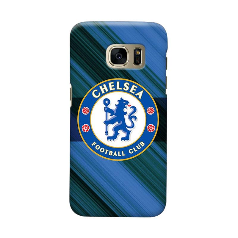 Indocustomcase Chelsea FC CFC01 Cover Casing for Samsung Galaxy S6