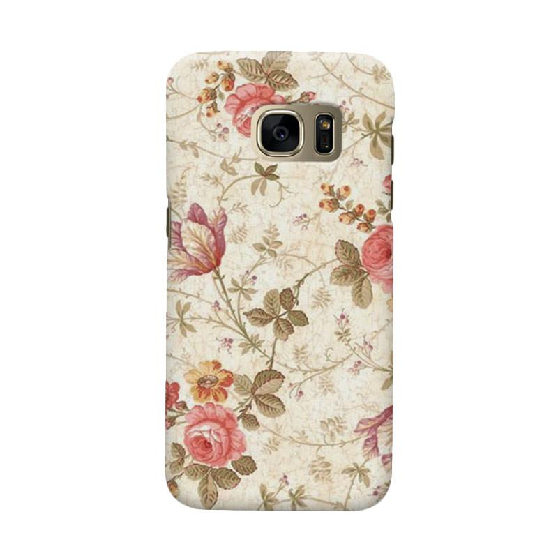 Indocustomcase Roses Casing for Samsung Galaxy S6