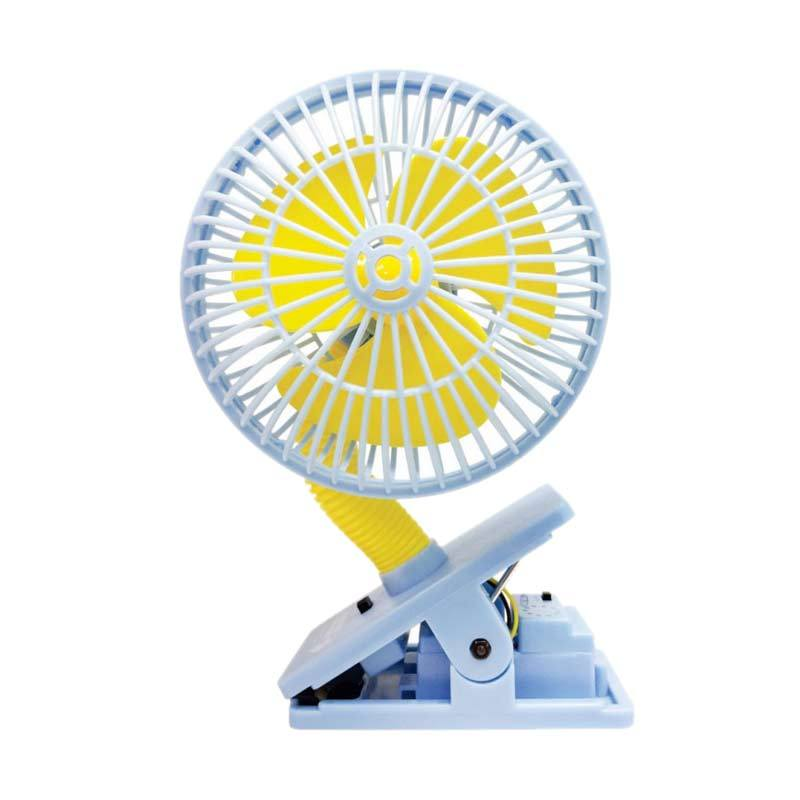 Lucky Baby Multi Safety Fan Ultrasonic Mosquito Repellent - Blue