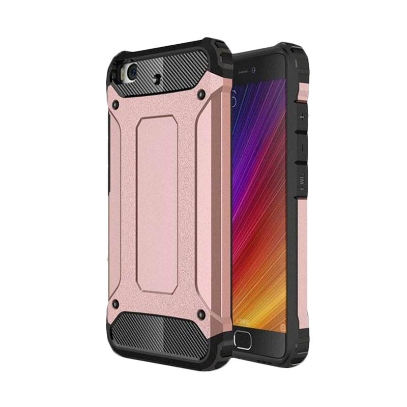 OEM Transformers Iron Robot Hardcase Casing for Oppo F1S F1 S A59 - Rose Gold