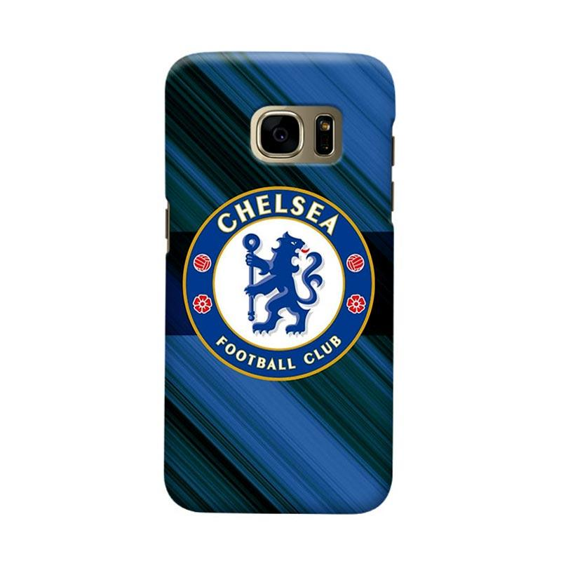 Indocustomcase Chelsea FC CFC01 Cover Casing for Samsung Galaxy S7
