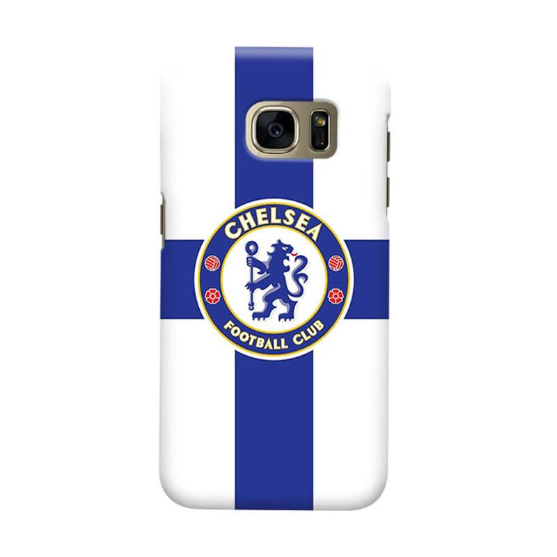Indocustomcase Chelsea FC CFC02 Cover Casing for Samsung Galaxy S6