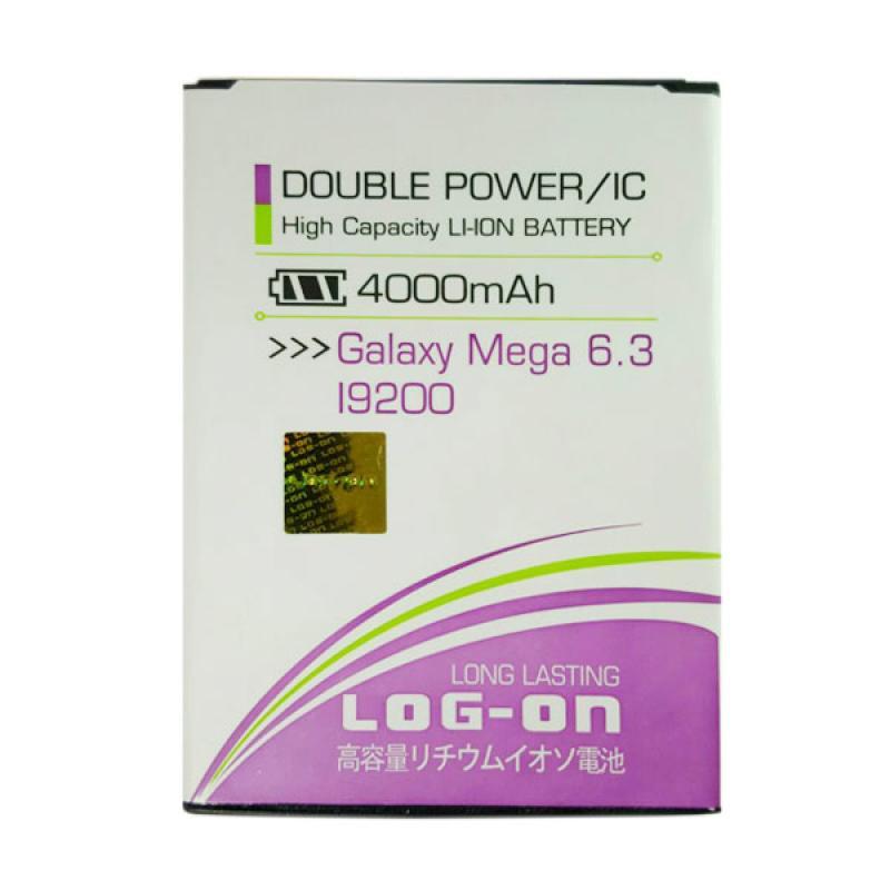 Jual Log On Double Power Battery IC For Samsung Galaxy Mega 63 4000 MAh Garansi 6 Bulan Online