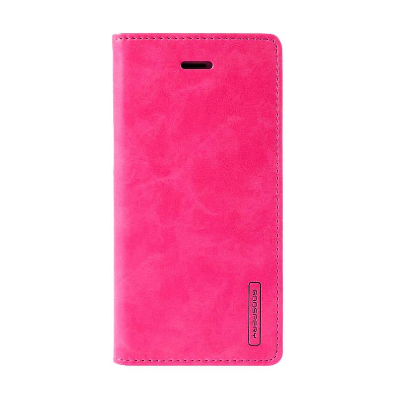 Mercury Goospery Bluemoon Flip cover Casing for iPhone 5G - Hot Pink