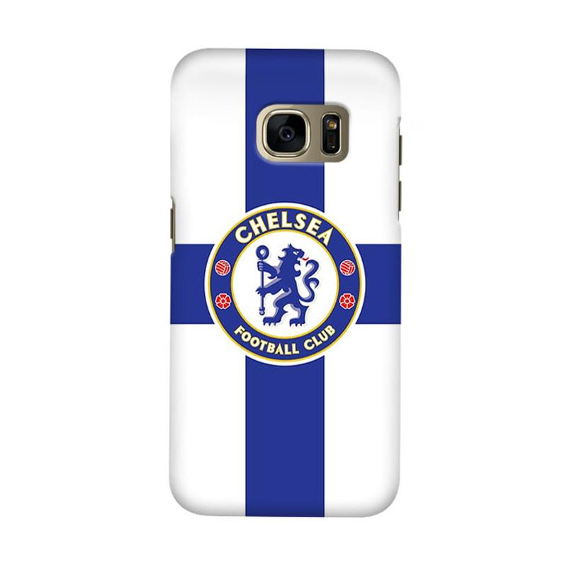 Indocustomcase Chelsea FC CFC02 Cover Casing for Samsung Galaxy S7