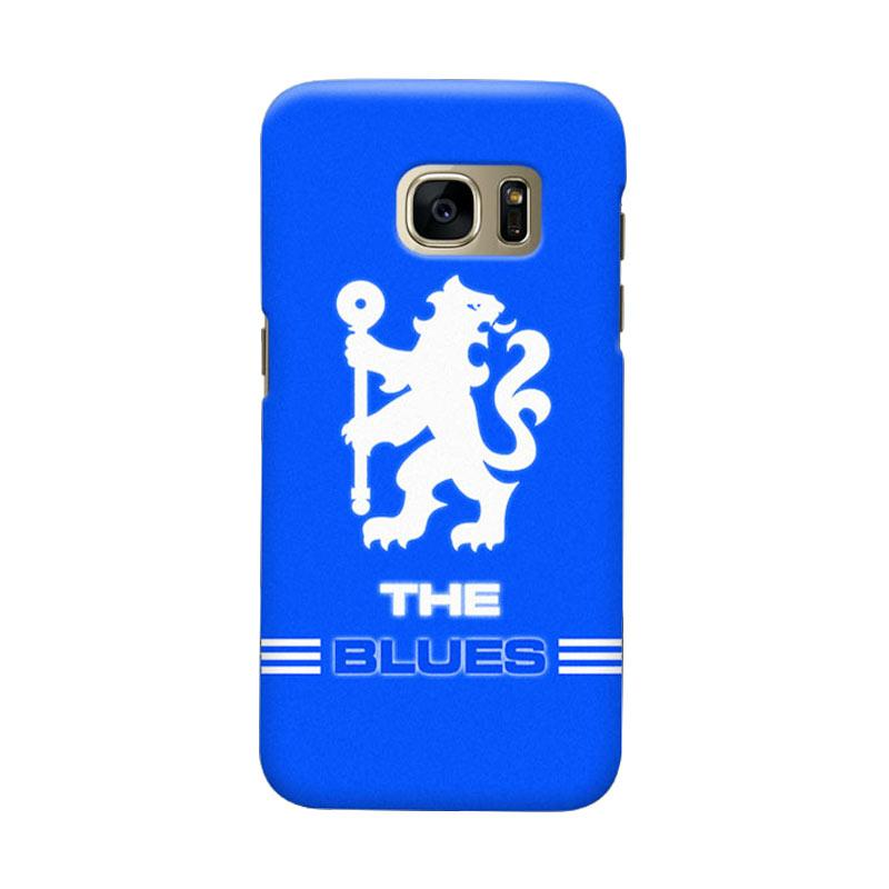 Indocustomcase Chelsea FC CFC03 Cover Casing for Samsung Galaxy S6
