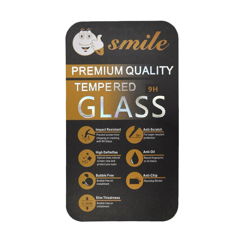 Smile Tempered Glass Anti Gores Screen Protector for Blackberry Q5 - Clear