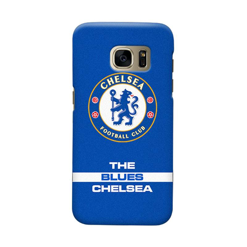 Indocustomcase Chelsea FC CFC04 Cover Casing for Samsung Galaxy S6