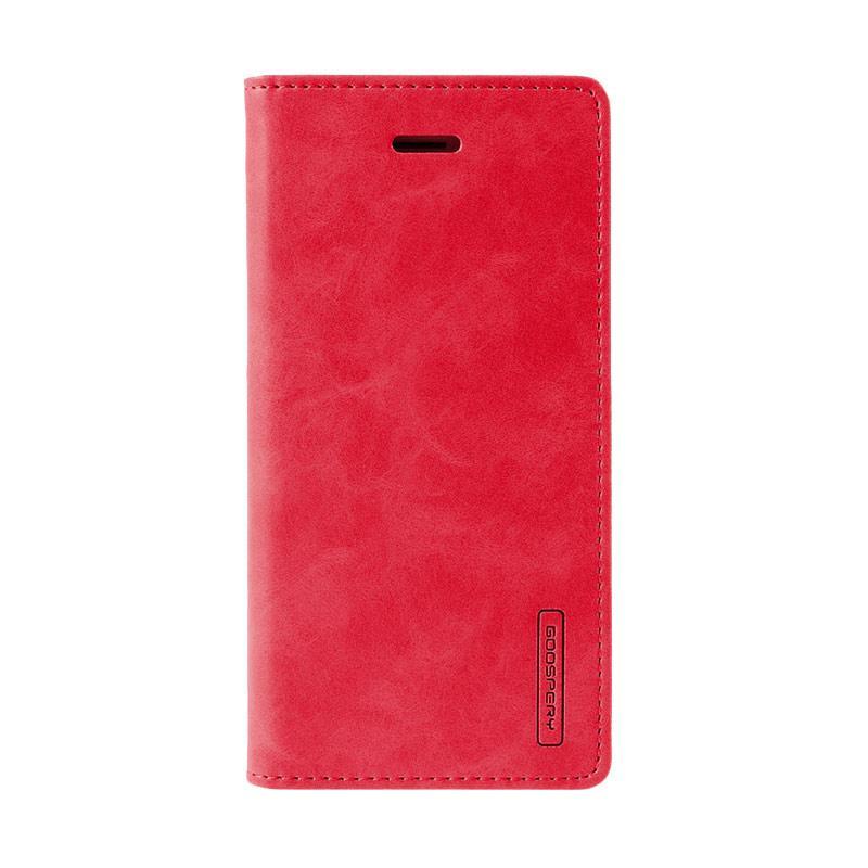 Mercury Goospery Bluemoon Flip Cover Casing for iPhone 7 5.5 Inch - Merah