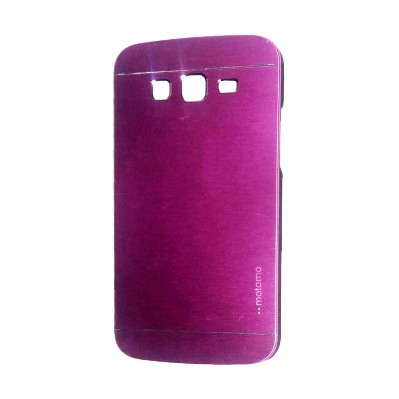 Motomo Metal Hardcase Backcase Casing for Samsung Galaxy Grand or I9082 - Pink