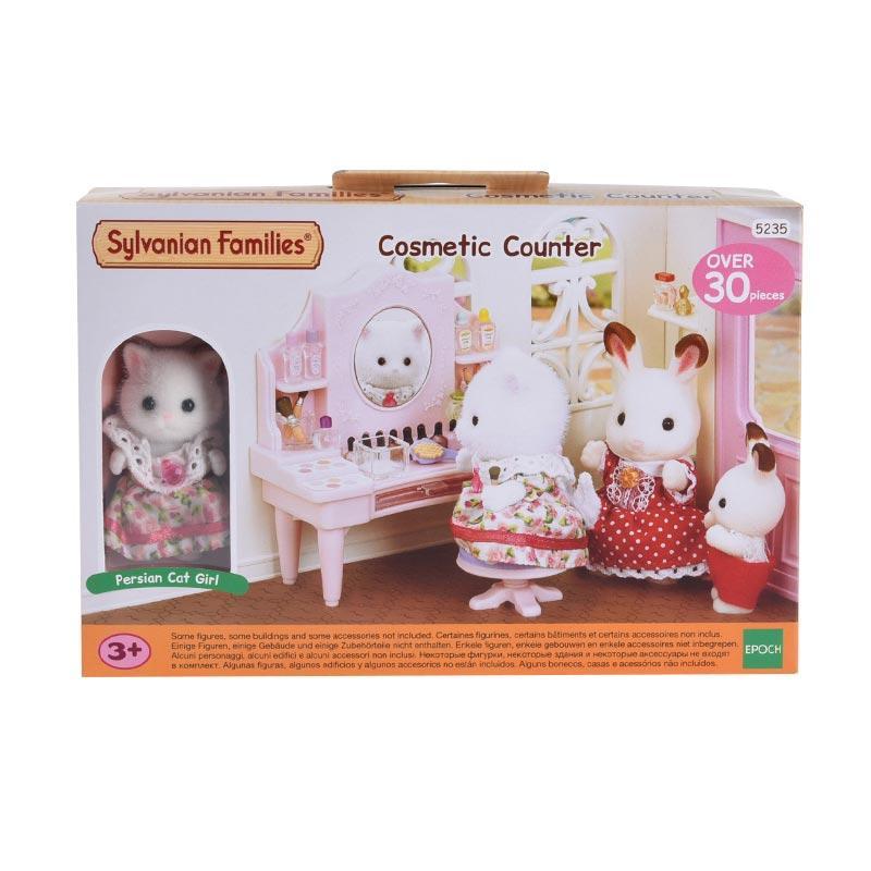 Sylvanian Families Cosmetic Counter Set Mainan Anak