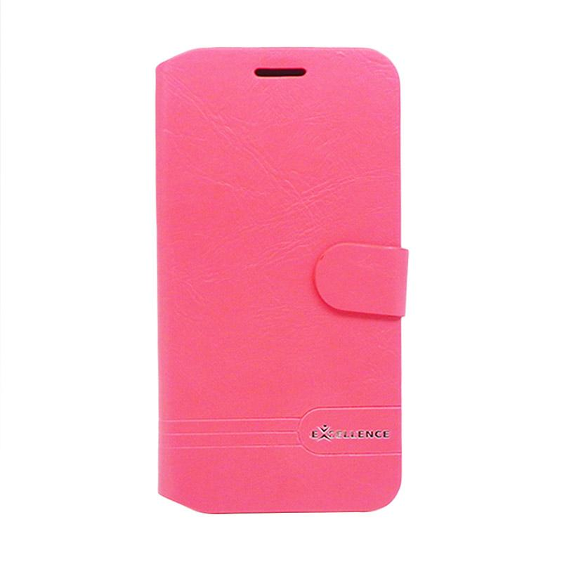 Excellence Dragonite Flip Cover Casing for Asus Zenfone Max ZC550KL - Red