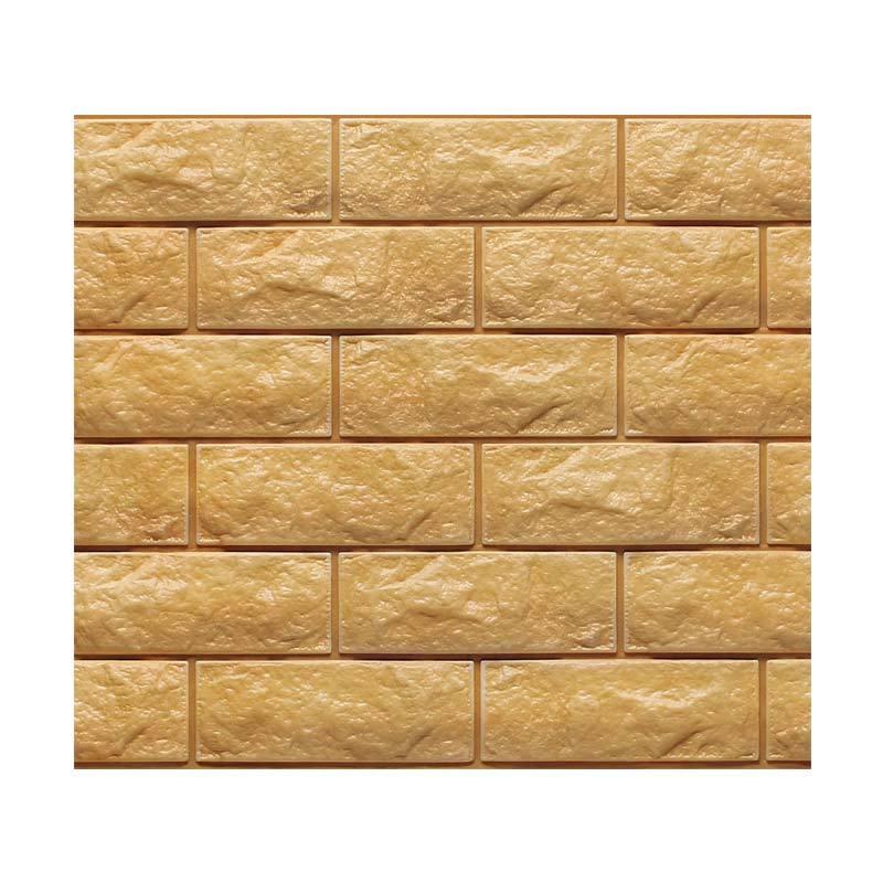 Hyundae Fixpix Fix Brick 3D Wallpaper SDB 26504 Dekorasi Dinding [100 x 45 cm]