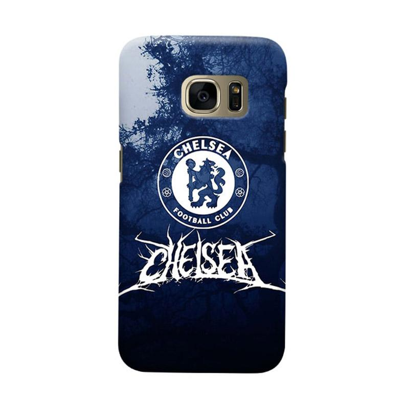 Indocustomcase Chelsea FC CFC05 Cover Casing for Samsung Galaxy S6