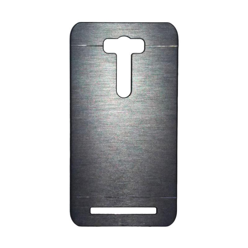 Motomo Metal Hardcase Casing for Asus Zenfone 2 Laser ZE601KL 6.0 Inch - Silver