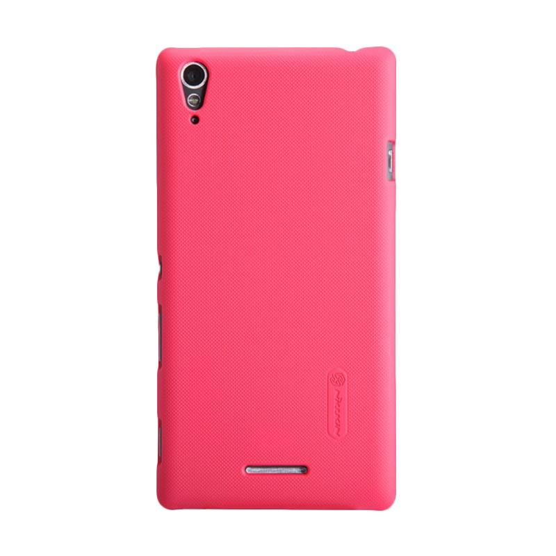 Nillkin Original Super Shield Hardcase Casing for Sony Xperia T3 - Red [1mm]
