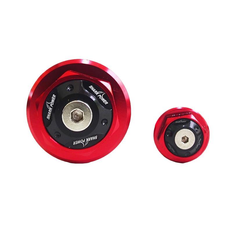 Raja Motor Baut Magnet for Yamaha Xabre - Merah [TMG3001-Merah]