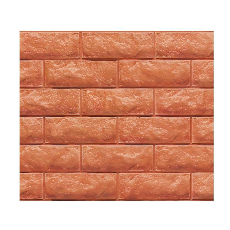 Hyundae Fixpix Fix Brick 3D Wallpaper SDB 26505 Dekorasi Dinding [100 x 45 cm]