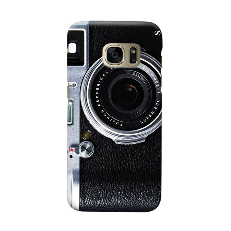 Indocustomcase Camera FF Cover Casing for Samsung Galaxy S6